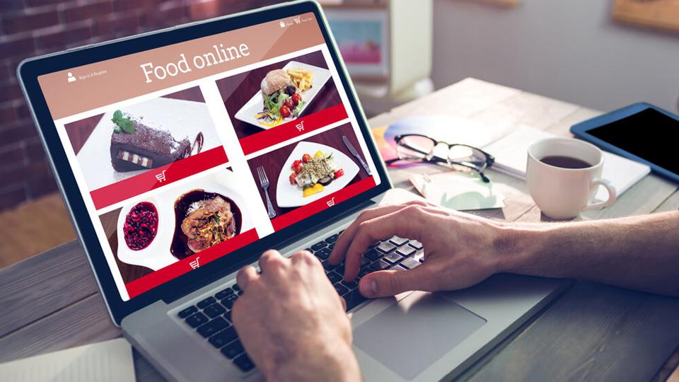 سفارش گیری غذا در سامانه ی آنلاین